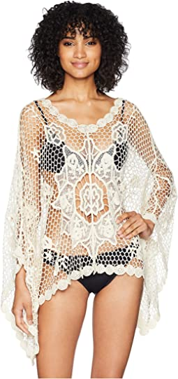 Macrame Poncho Cover-Up