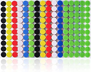 """Miracle Market 600 Pcs (300 Pairs) of Colorful Hook and Loop Self Adhesive Fastener Dots 