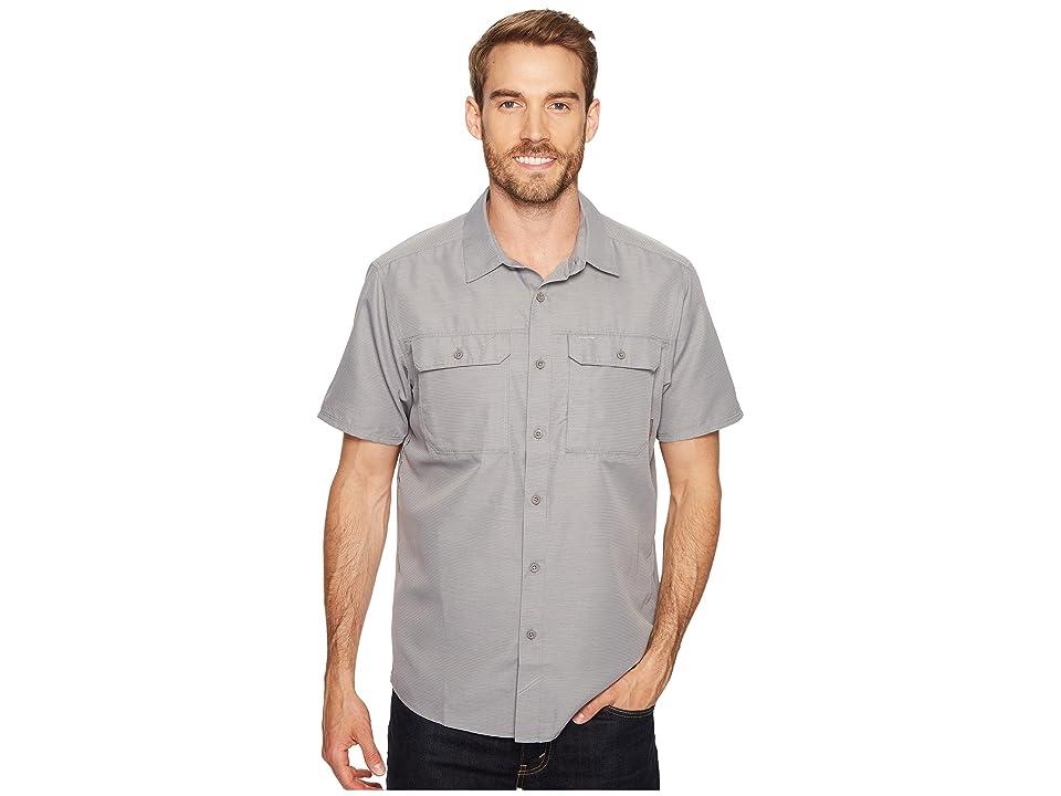 Mountain Hardwear Canyontm S/S Shirt (Manta Grey) Men