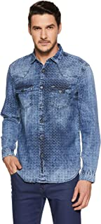 Nation Street Men's Checkered Slim Fit Casual Shirt