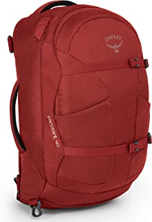 Osprey Farpoint 40 Backpack Small/Medium Jasper Red