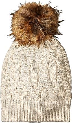 LAUREN Ralph Lauren - Mohair Blend Aran Hat