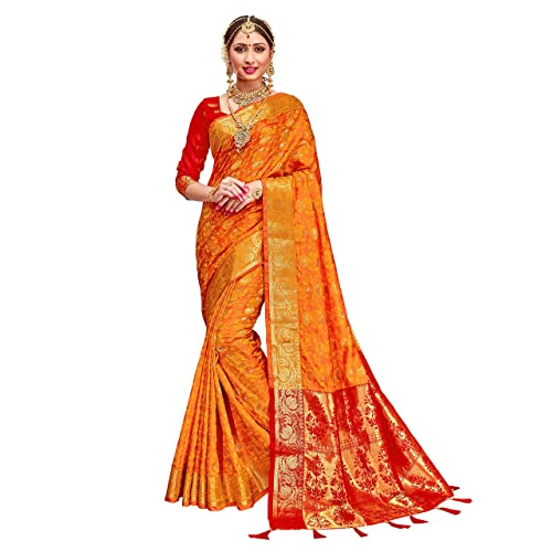 8032e64c3 HEART N SOUL Indian Bollywood Sarees for Women Patola Silk Woven Saree l  Tradional Wedding Wear