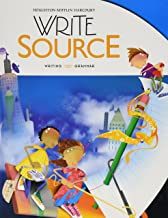 Write Source: Student Edition Hardcover Grade 5 2012
