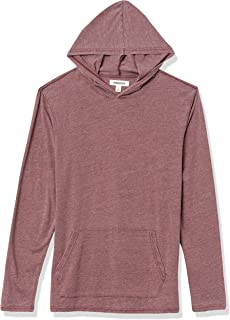 Amazon Brand - Goodthreads Men's Burnout Long-Sleeve Pullover Hoodie T-Shirt