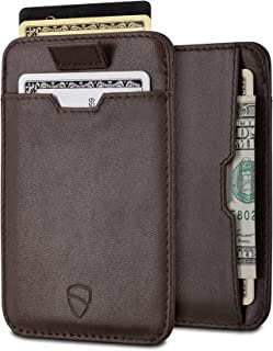 Vaultskin Chelsea ultra-slim leather card-protecting RFID wallet