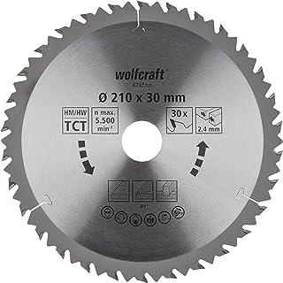 Wolfcraft 6737000 cirkelsågsblad, silver