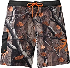 Legendary Whitetails Men's Rolling Stone Big Game Camo Swim Trunks