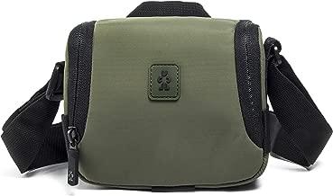 Crumpler Triple Camera Cube Universal Camera Bag Shoulder Bag for Camcorder and Bridge Cameras TRA-CCUB-S-01-002 green