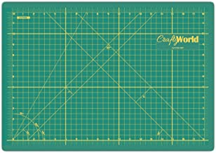 Cutting Mats by Crafty World – Self Healing Mat for Rotary Cutting, Quilting,..