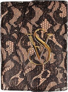 Victoria's Secret Leather Passport Wallet w/ Button Flap Over
