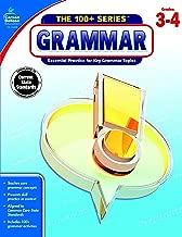 Carson-Dellosa The 100+ Series Grammar Workbook, Grades 3-4