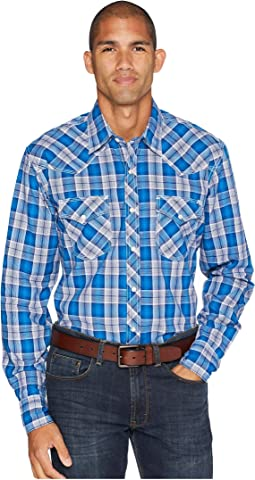 20X Competition Advance Comfort Snap Plaid