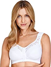 Miss Mary Of Sweden Cotton Lace Non-Wired, Front-Closure Bra