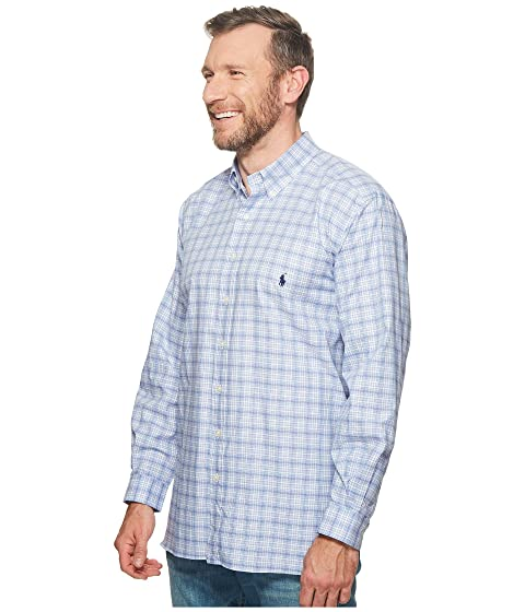 Tall Big Sleeve Ralph Long Polo Shirt Twill amp; Lauren Sport OqgEIHA