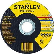 STANLEY Disco Abrasivo de Corte Multi Material de 4.1/2 Pol. x 1.0mm x 7/8 Pol. (114mm x 1.0mm x 22mm) STA8070