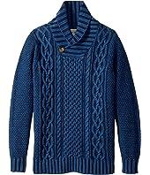 Lucky Brand Kids - Long Sleeve Shawl Collar Sweater (Big Kids)