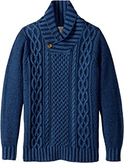Lucky Brand Kids - Long Sleeve Shawl Collar Sweater (Big Kids)