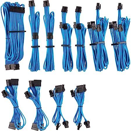 Corsair Premium Sleeved Netzteil Pro Kabel Set Typ4 Computer Zubehör