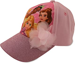 439e515c42e Disney Little Girls Princess Character Cotton Baseball Cap