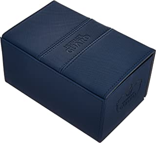 Ultimate Guard Deck Box Twin Flip N Tray Xenoskin 160 Blue Collectible Card Protection