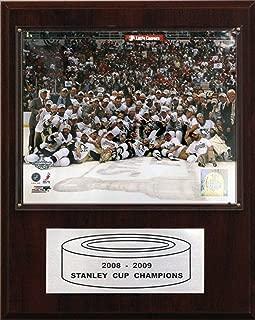 NHL Penguins 2008-09 Stanley Cup Celebration Champions Plaque