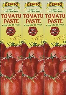 Cento Tomato Paste in Tube 4.56 oz,Pack of 3