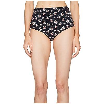 Stella McCartney Grungy Flower High Waist Bikini Bottom (Grunge Floral Print) Women