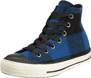 Converse Chucks As Hi Blk/Red/Egret Wlch, Sneaker Unisex – Adulto