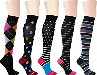 Dr. Motion Women's Compression Socks 5 Pairs (Assort 5)