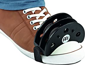Meinl Percussion Foot Tambourine with Stainless Steel Jingles-NOT MADE IN CHINA-Accompaniment for Cajon Gigs, 2-YEAR WARRA...