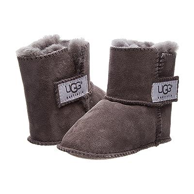 UGG Kids Erin (Infant/Toddler) (Charcoal) Girls Shoes