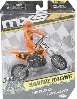 Jakks Pacific Series MXS Motocross Bike Orange 31 Santoz Racing Action Figure