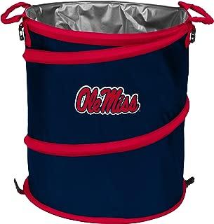 Logo Brands Collegiate Collapsible Multi Function Pop-Up Barrel: Cooler, Hamper or Trash Can