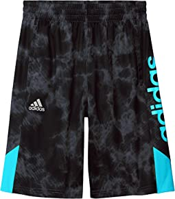 adidas Kids Smokescreen Shorts (Big Kids)