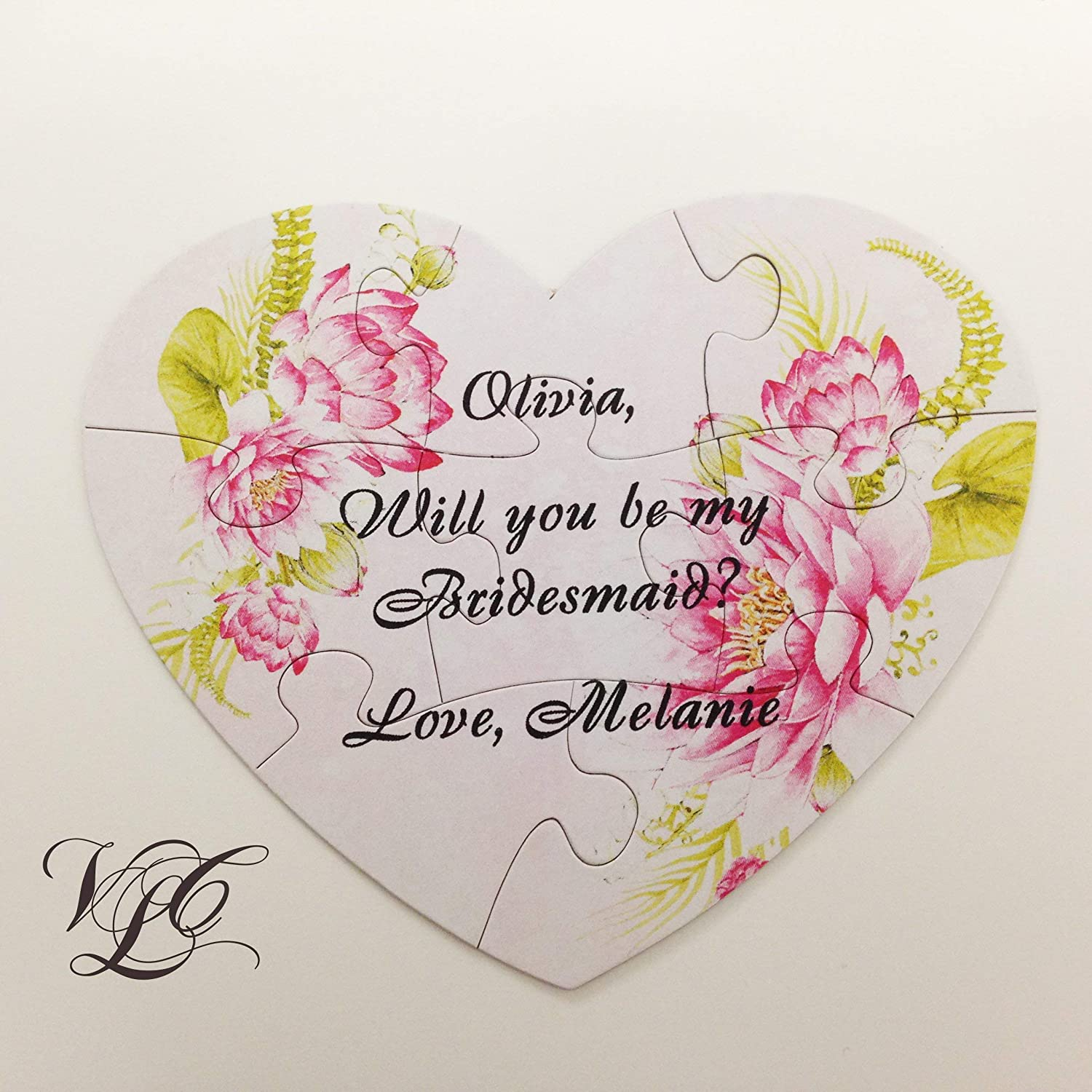 Bridesmaid proposal Today's only magnetic puzzle Will You My Maid Be Hono Max 51% OFF of