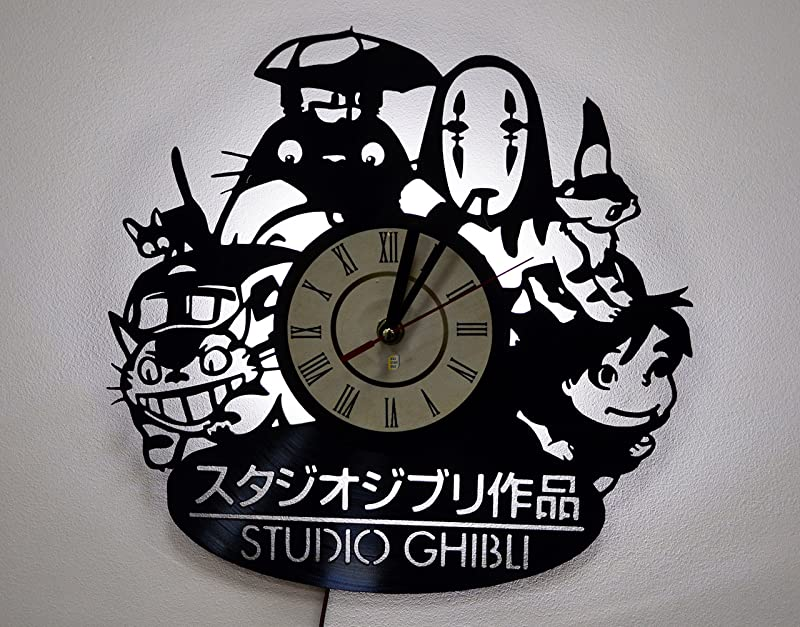 NICE STUFF ONLY Studio Ghibli Characters Wall Lights Night Light Function Original Kids Room Interior Decor
