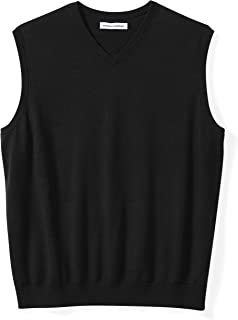 Men's Big & Tall V-Neck Sweater Vest fit by DXL