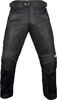 HWK Mesh Motorcycle Air Pants Riding CE ARMORED Motorbike Overpants!!! (Waist40''-42'' Inseam32'')