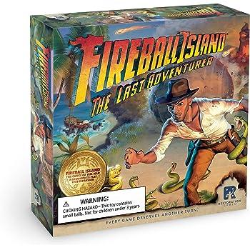 OEJ ~ Fireball Island ~ The Curse of Vul-Kar ~ Board Game ~ Restoration Games