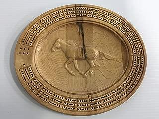 3D Horse Cribbage Board