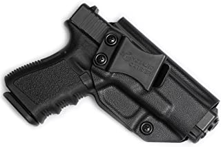 Glock 17 19 22 23 26 27 31 32 33 45 (Gen 1-5) IWB Holster - Combat Veteran Owned Company - Inside The Waistband Concealed Carry - Adjustable Retention and Cant