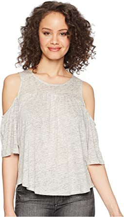 Oliana Cold Shoulder Knit Top