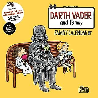 Darth Vader and Family 2020 Family Wall Calendar: (2020 Family Calendar, Star Wars Gifts, Star Wars Calendar)