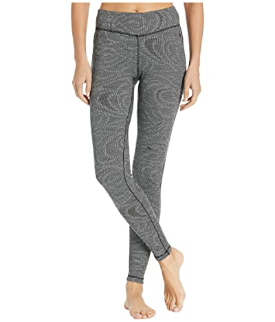 Smartwool Merino 250 Base Layer Pattern Bottoms (Black Snow Swirl) Women