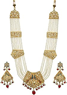 gold plated kundan jewellery online