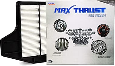 Spearhead MAX THRUST Performance Engine Air Filter For Low & High Mileage Vehicles - Increases Power & Improves Acceleration (MT-450)
