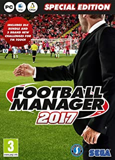 Football Manager 2017 Limited Edition (PC DVD)