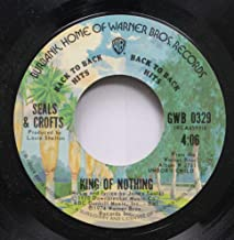 Seals & Crofts 45 RPM King of Nothing / Unborn Child