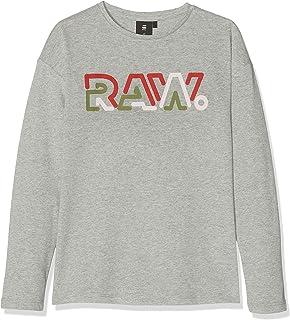 G-STAR RAW Sp10565 LS tee Camiseta de Manga Larga para Niñas
